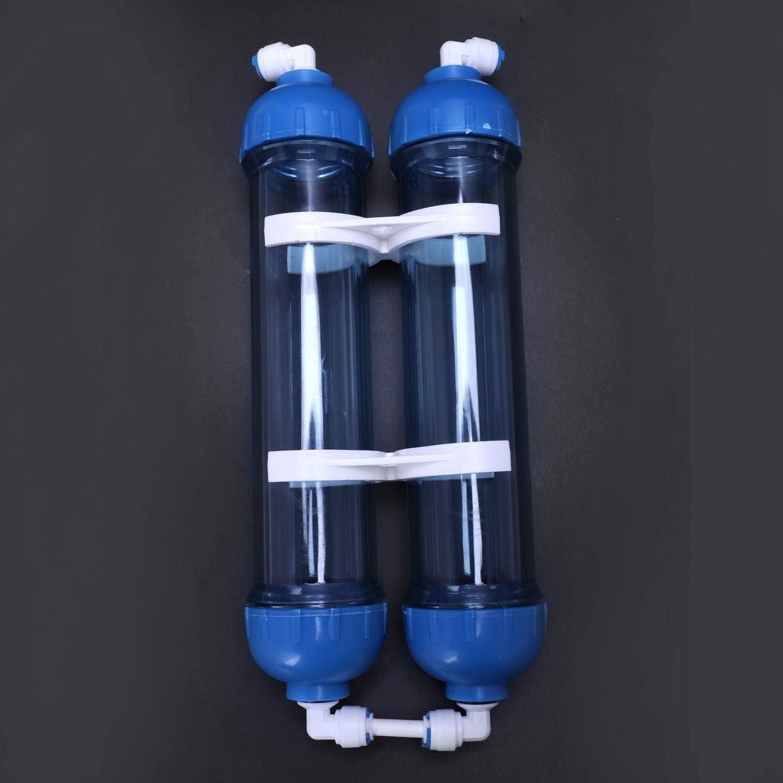 Water Filter Cartridge Housing DIY Shell Purifier Bottle Reverse Osmosis System