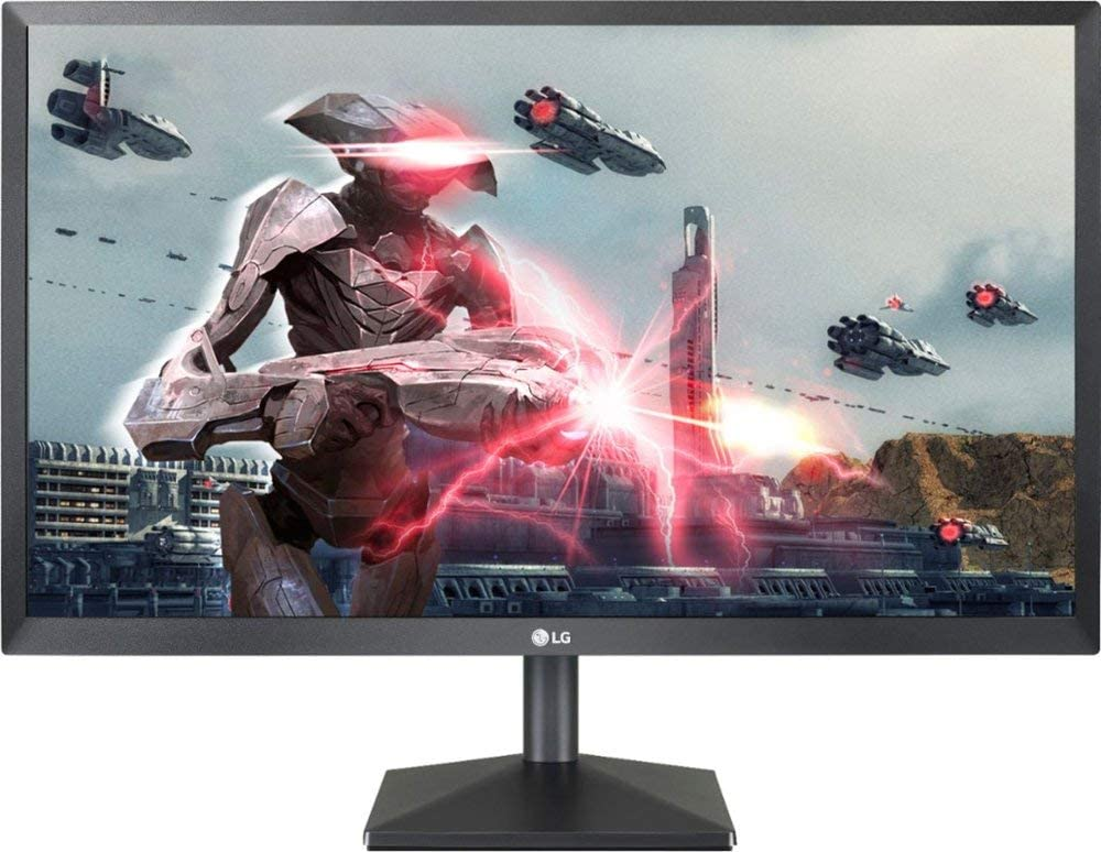 "LG - 24"" 24ML44B-B IPS LED FHD FreeSync Monitor - Black"