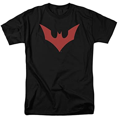 ad7455b0 Image Unavailable. Image not available for. Color: Trevco Batman Beyond Logo  Unisex Adult T Shirt ...