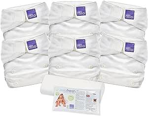 Bambino Mio, miosolo Cloth Nappy Set, White