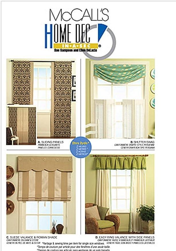 Home Dec In-A-Sec McCall/'s 3088