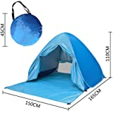 Chukchi Chukchi Outdoor Automatic Pop Up Beach Tent, Portable Cabin Camping Tent Sun Shelter for 2-3 Person