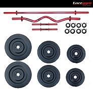 Energym Kit DE Pesas 3 Rojo