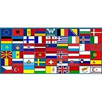 WHATABUS Europa Plus stickerset - 53 stickers - 8,5 x 5,5 cm