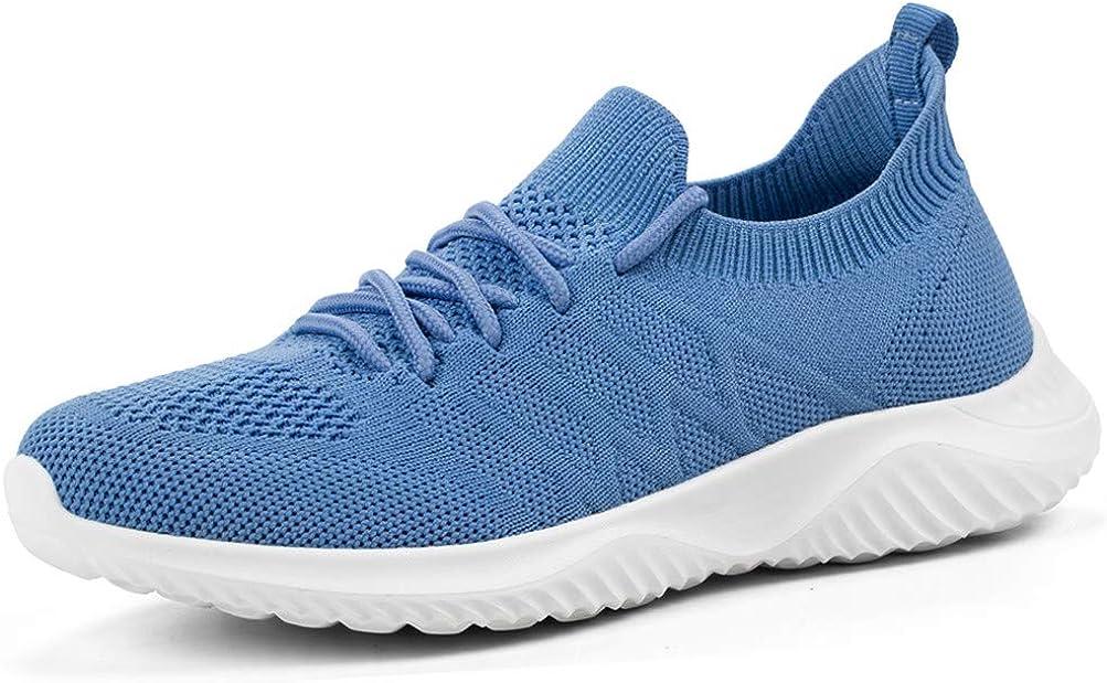 Zapatillas de Tenis para Mujer – Zapatillas de Deporte atléticas para Correr, Ligeras, Espuma viscoelástica para Gimnasio, Viajes, Trabajo: Amazon.es: Zapatos y complementos