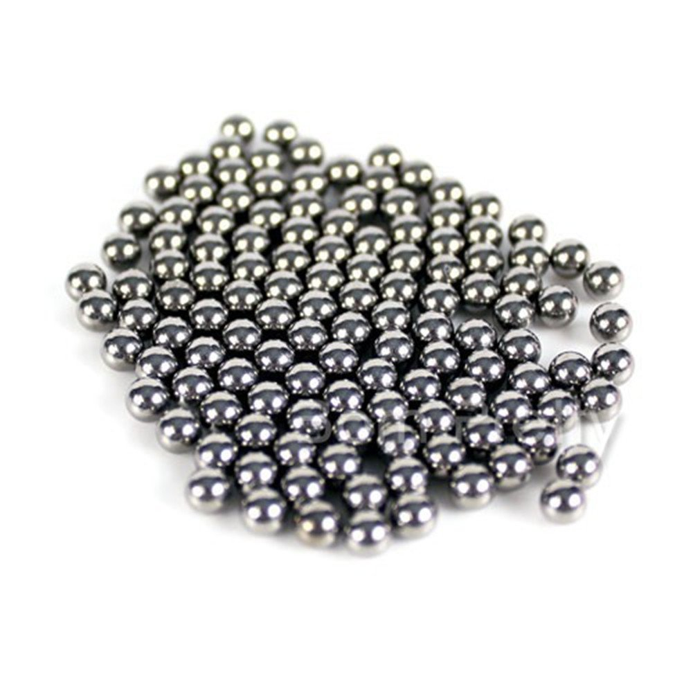 Born Pretty 20pcs Nail Polish Mixing Balls Stainless Steel Beads for Glitter Polish 5mm