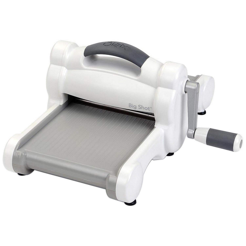 Fun Express - Sizzix Big Shot Machine-White W/Gray - Craft Supplies - Scrapbooking - Tools - 1 Piece