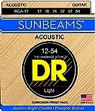 DR Strings Sunbeam - Phosphor Bronze AcousticRound Core 12-54