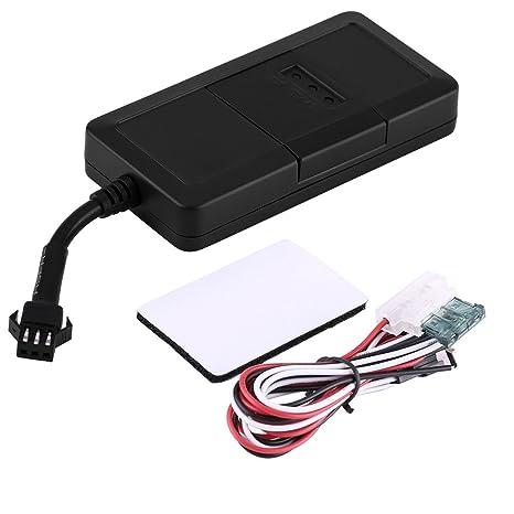Qiilu 9-80V Rastreador GPS GSM GPRS Sistema de seguimiento Dispositivo de localización en tiempo