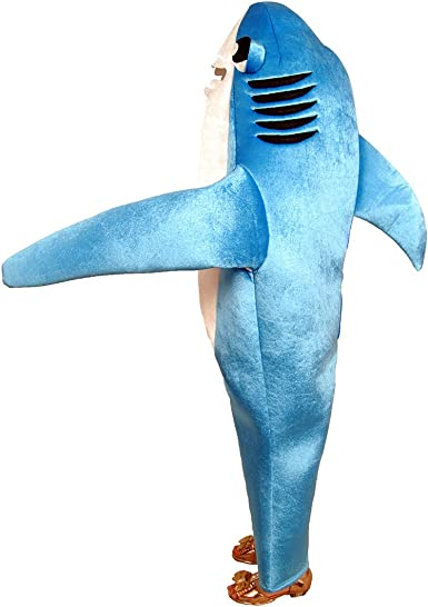 Ferocious Shark Children/'s Halloween CostumeKids Unisex Marine Animal Suit