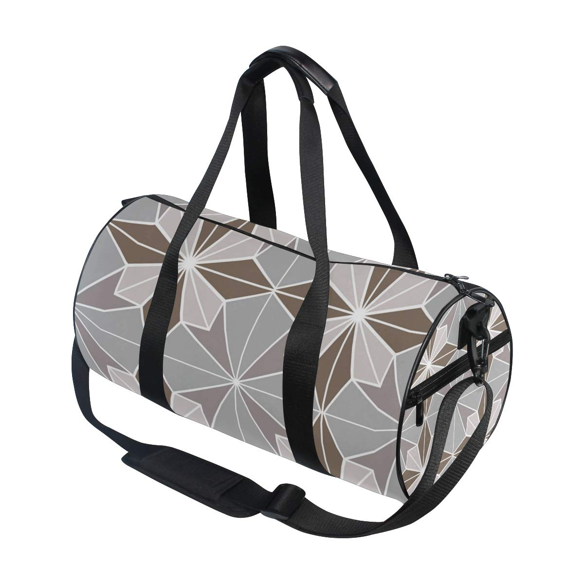 Grey Unique Ceramic PictureWaterproof Non-Slip Wearable Crossbody Bag fitness bag Shoulder Bag