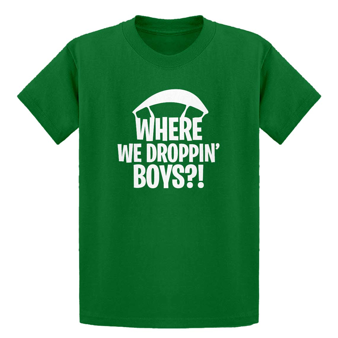 Indica Plateau Youth Where we Droppin' Boys?! Kids T-Shirt 3748-Y