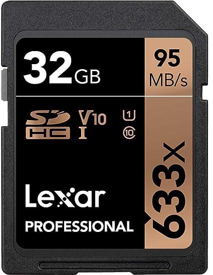 Lexar LSD32GCB1NL633 32GB SDHC UHS-I Clase 10 Memoria Flash ...