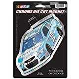 NASCAR Danica Patrick Die Cut Logo Chrome Magnet, 6.25 x 9-Inch