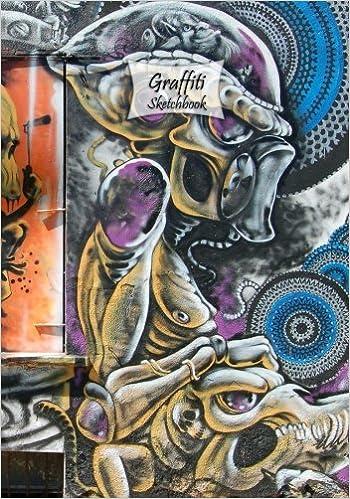 amazon com graffiti sketchbook graffiti 6 7 x 10 120 pages