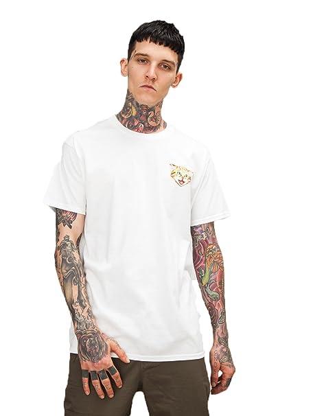 ALAIX Camiseta de Manga Corta para Hombre Camiseta de Algodón 3D Print Camisetas Unisex: Amazon.es: Ropa y accesorios