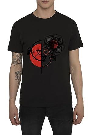 Designer Shirt | Herren Designer Shirts T Shirt In Schwarz Weib Mit Design Leder
