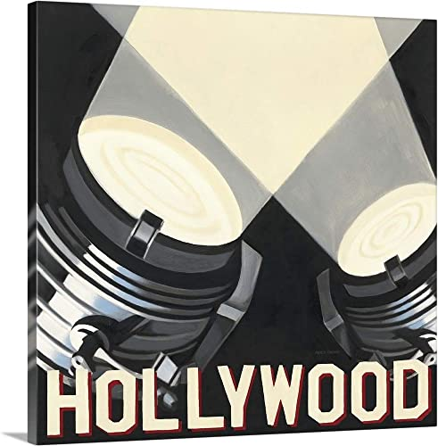 Hollywood Canvas Wall Art Print