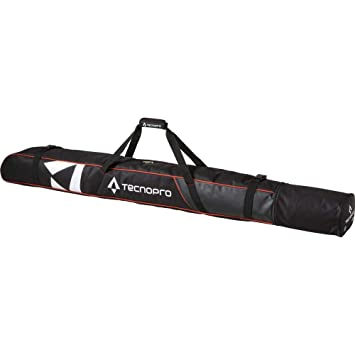 TECNOPRO 95879002032 Bolsa para esquís Negro, Rojo Bolsa de ...