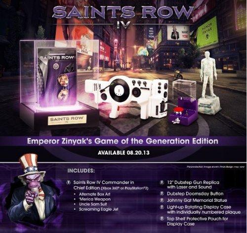 Saints Row IV - Game of the Generation Edition -Xbox 360 (Saints Games 4 Xbox Row 360)