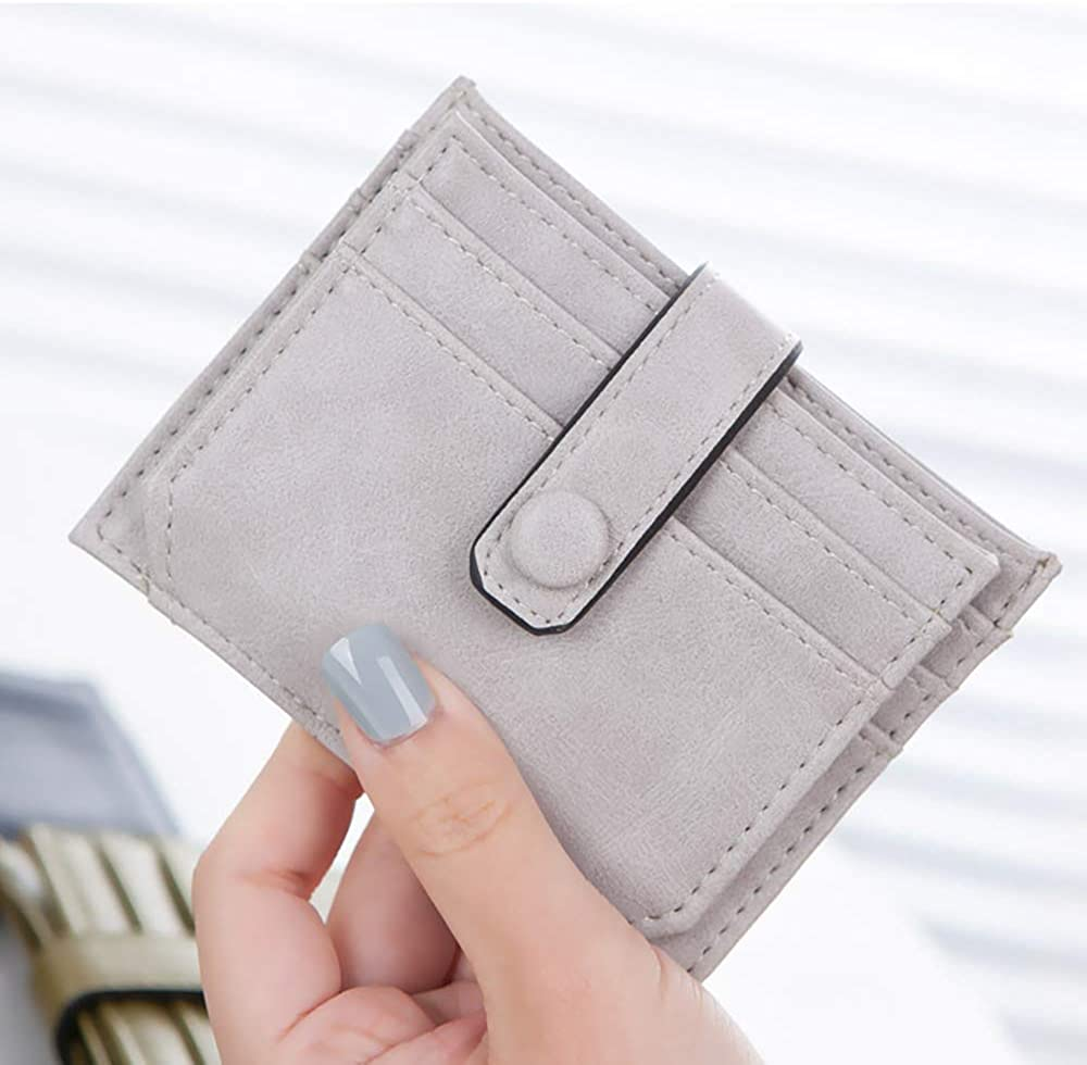 YAMIZOO Card Slot Wallets Leather for Card Cash Pouch Slots Clutch Pocket Wallet
