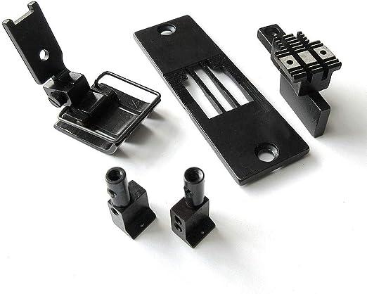 """Juego de medidores de conversión para máquina de coser de doble aguja Juki Lh-1152 Lh-1162 Lh-1182 GAUGE SIZE :1/2"""": Amazon.es: Hogar"""