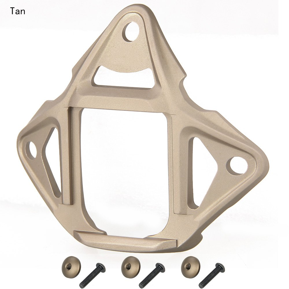 Tactical 3-Hole Type 2 Skeleton NVG Mount Shroud for ACH / MICH