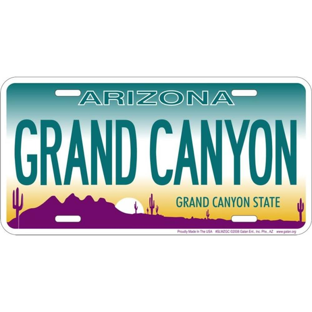 Signs 4 Fun AZ-Grand Canyon Placa de Licencia