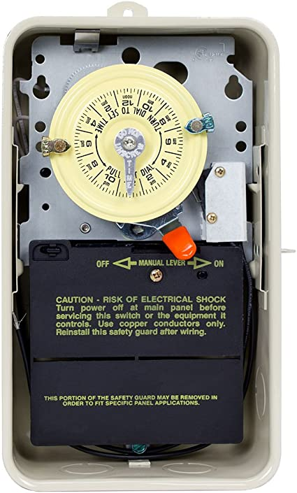 [DIAGRAM_5FD]  Amazon.com : Intermatic T104R201 Time Switch, Beige : Swimming Pool Timers  : Garden & Outdoor | Intermatic T104r201 Wiring Diagram |  | Amazon.com
