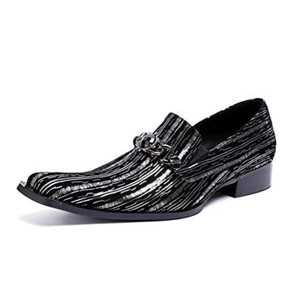 0f4a2b5b016f7 Amazon.com: Men's Pointed Leather Shoes 2018 Spring/Fall/Winter ...