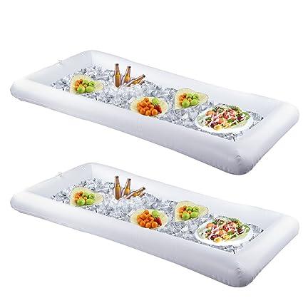 amazon com fasmov inflatable serving bar salad serving bar with rh amazon com