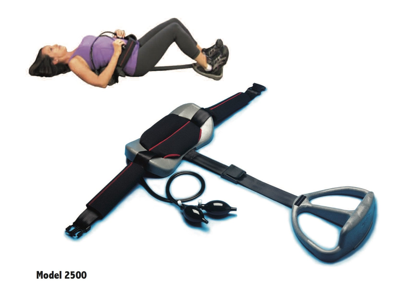 Posture Pump Relief For Sciatica and Low Back Pain - Penta Vec Model 2500 by Posture Pump