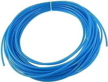 Air Tubing Hose Polyurethane Blue PU Stiff Tube YXQ 15M 4mm x 2.5mm ID