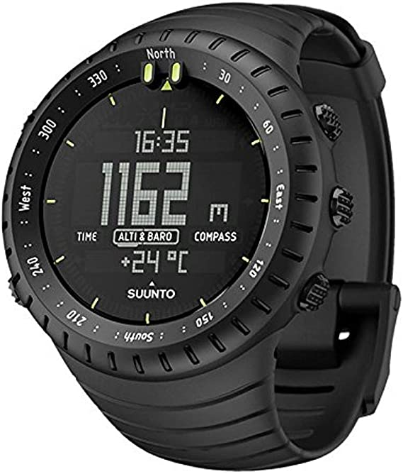 SUUNTO Core All Black Military Men's Outdoor Sports Watch - SS014279010