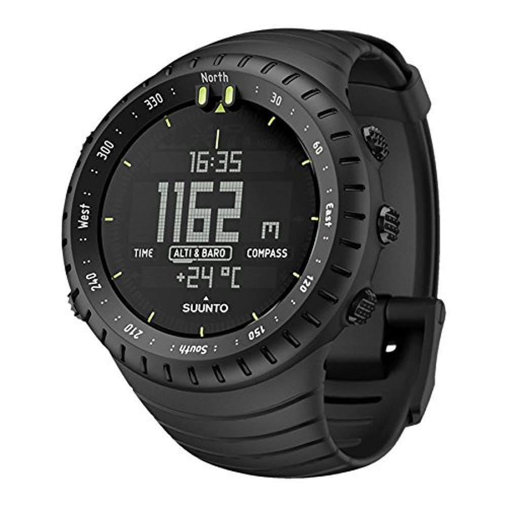 SUUNTO Core All Black Military Men's Outdoor Sports Watch - SS014279010 by Suunto