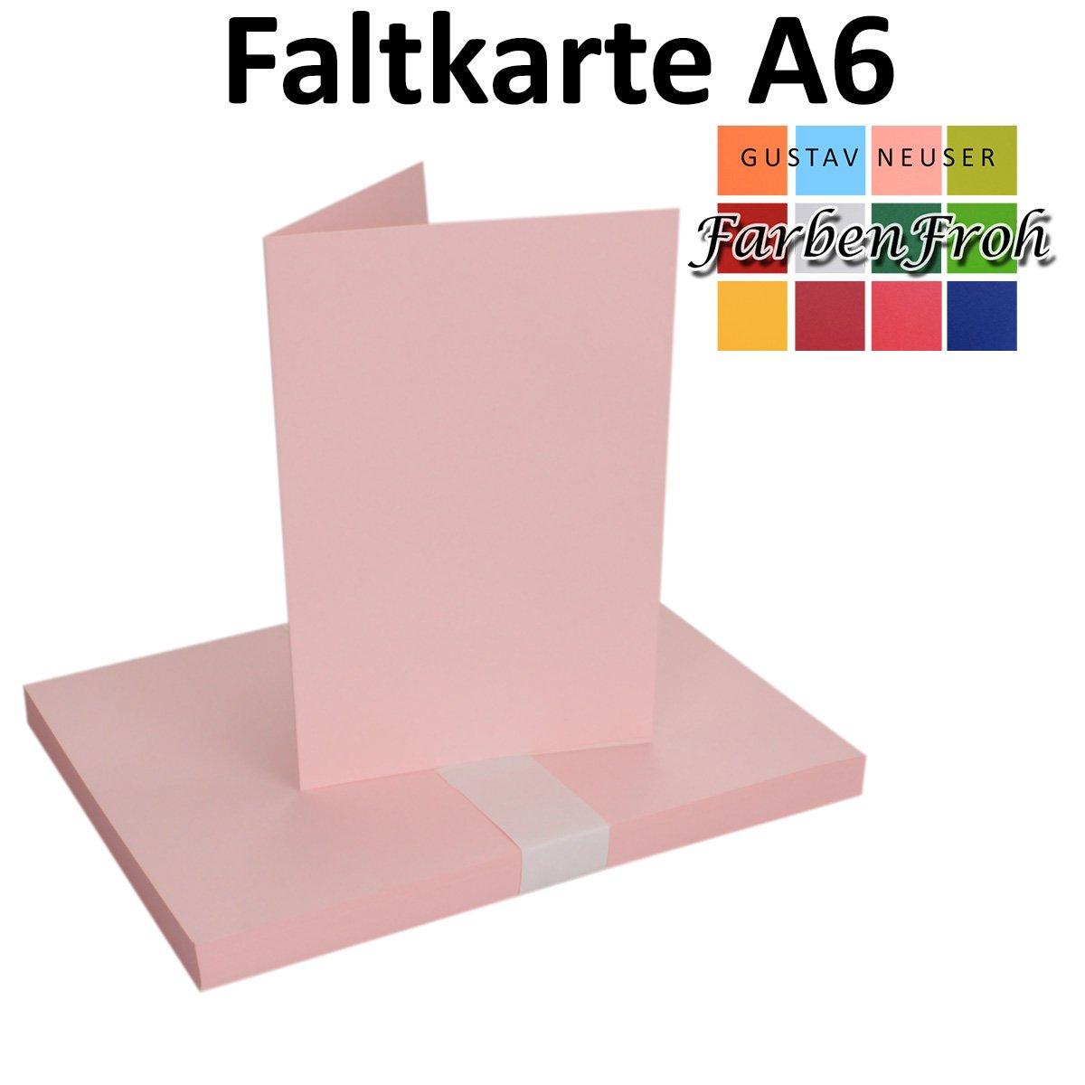 250x Falt-Karten DIN A6 Blanko Doppel-Karten in Hochweiß Kristallweiß Kristallweiß Kristallweiß -10,5 x 14,8 cm   Premium Qualität   FarbenFroh® B06Y468LS8 | Primäre Qualität  3ac0a4
