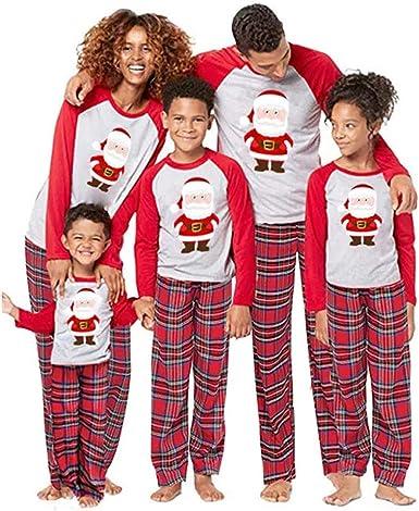 Hibasing Navidad Familia Conjunto de Pijamas - Papá Mamá ...