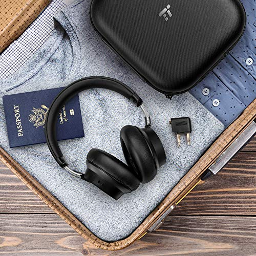 Computer Media Active Noise: TaoTronics Hybrid Active Noise Cancelling Headphones [2019