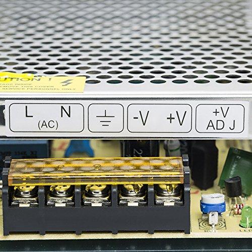 PHEVOS 5v 12A Dc Universal Switching Power Supply for Raspberry PI models,CCTV, Radio, Computer Project,LED strips pixel lights(5V 2801, 5V 2811 ,5V WS2812B ). by PHEVOS (Image #3)