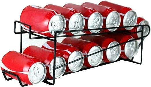 Black Food Dispensers Neat-O Stylish Sturdy Steel Can Beverage Rack Organizer