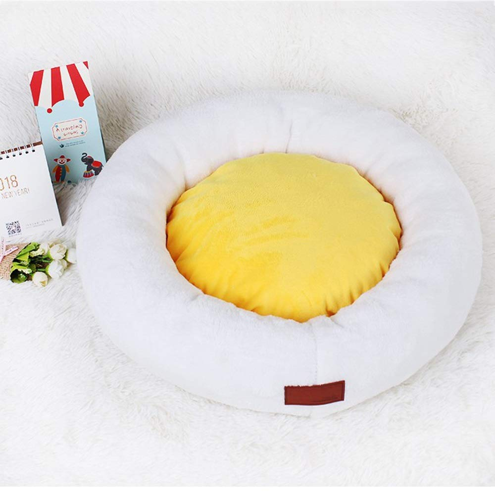 55cm Alppq Waterproof Cloth Cat Nest Dog Nest Washable Cat Bed Pet Mat Four Seasons Universal Cat Sleeping Bag Small Dog Dog Mat Dog Bed Round Or Oval Plush Bed Warm Luxury Pet Bed Round Pet Bed
