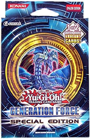 Yugioh Generation Force : Special Edition Pack [Toy] by Yu-Gi-Oh!: Amazon.es: Juguetes y juegos