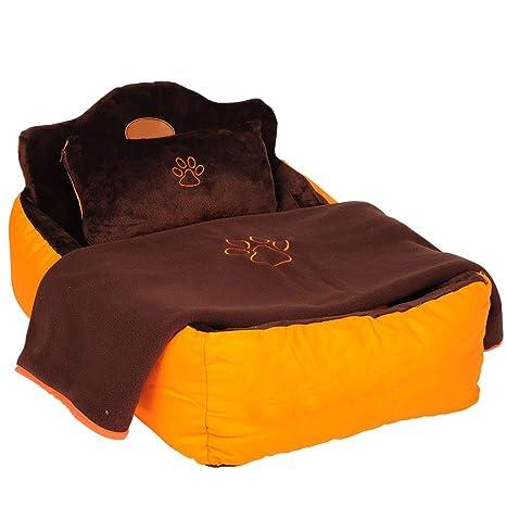 YIZHEN Cama Extra Grande para Mascotas, Impermeable y portátil, tamaño Mediano y Grande,