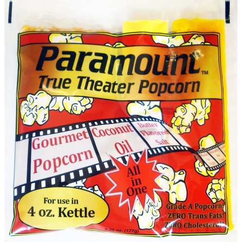 4 ounce popcorn portion packs - 9