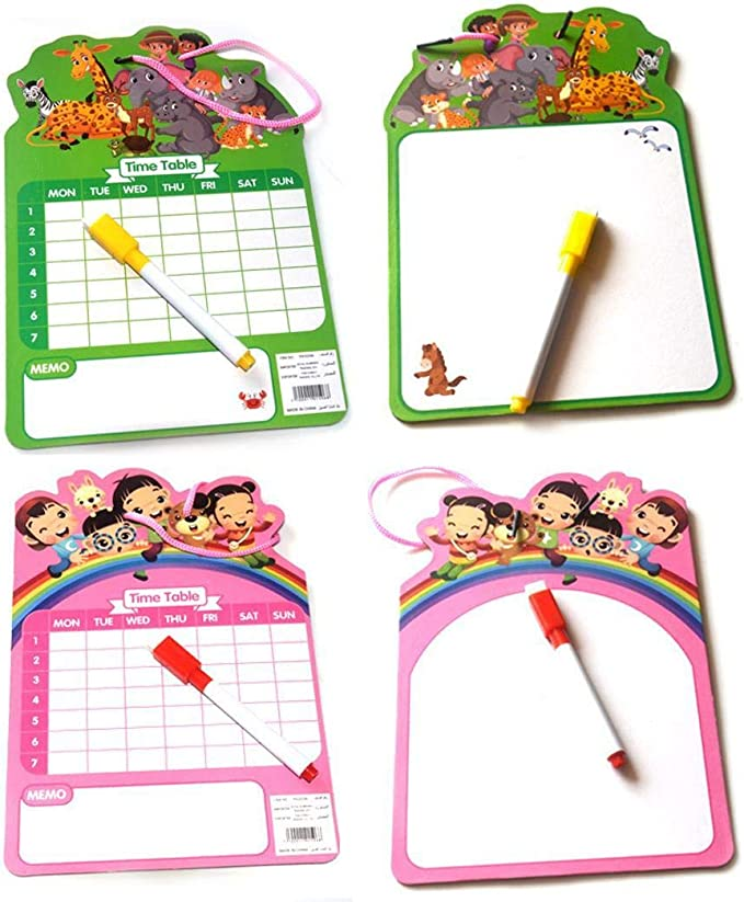 gonikm Children Magnetic with Multi-Colors Educational Learning Drawing Boards Graphics Tablets