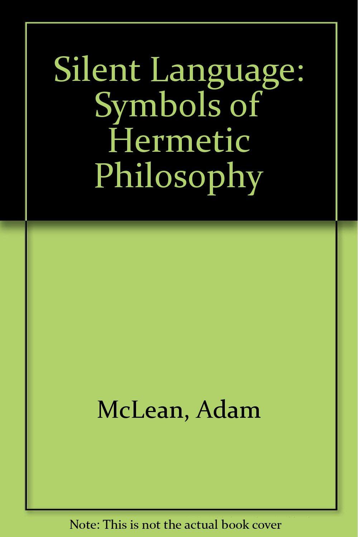 Amazon Silent Language Symbols Of Hermetic Philosophy