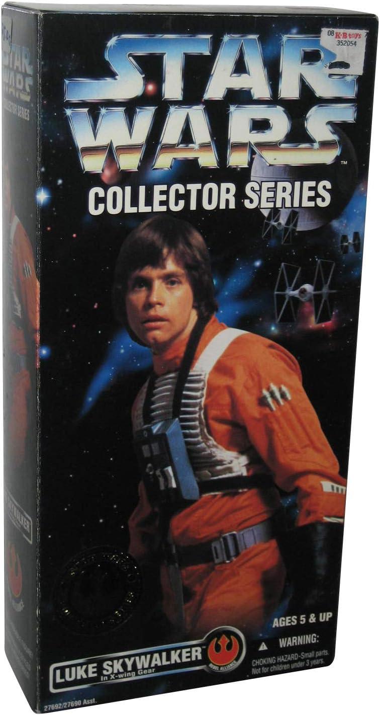 """Star Wars Collector Series 12"""" Luke Skywalker in X-wing Gear Doll Figure By Kenner"""