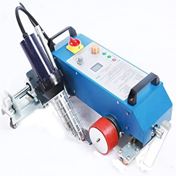 top-3400 C automático aire caliente Soldador PVC Banner soldadura máquina para PE plástico materiales: Amazon.es: Hogar