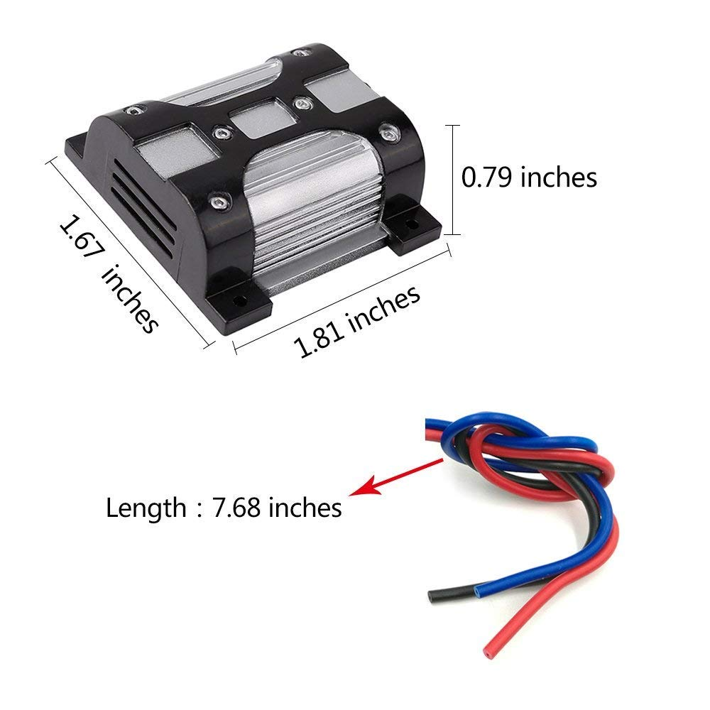 Mr.Ho 10 AMP 12V Car Audio Radio Amplifier Noise Suppressor and Stereo Filter with Ground Loop Isolator