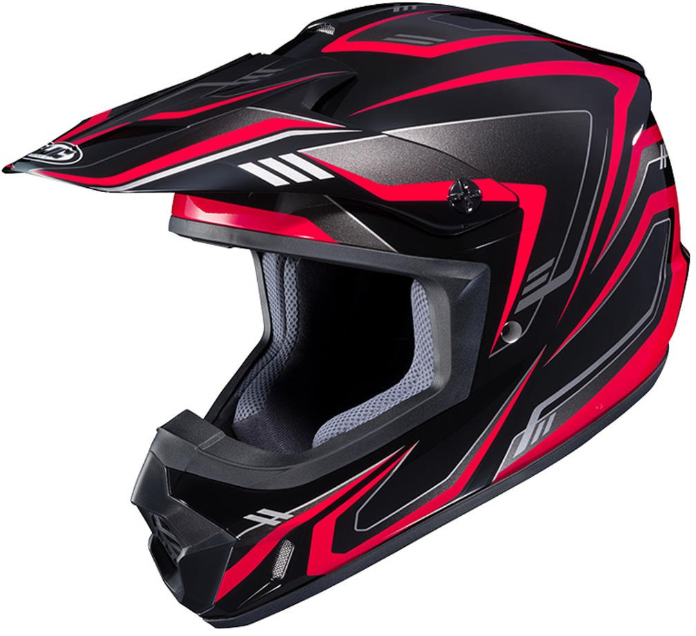 HJC CS-MX II Edge Off-Road Motorcycle Helmet Black Red XX-Large